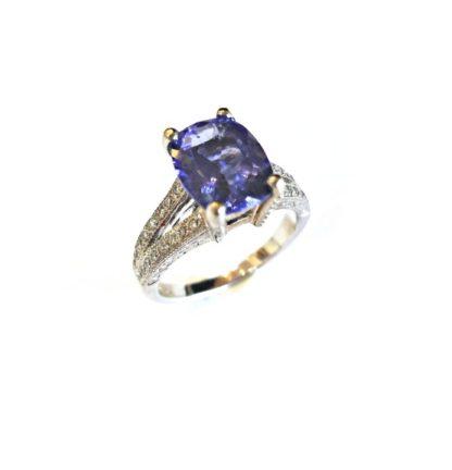 160 100033 e1520555807613 416x432 - Vintage Cushion-Cut Iolite Ring