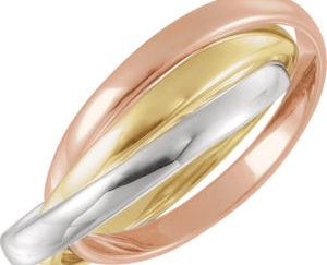 180 10003top 300x243 - 14k White Gold Diamond Beaded Band