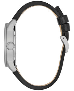 BM8471 01E 1 - Citizen Eco-Drive Military Black Leather Strap Watch 42mm