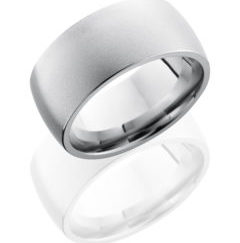 CC10D 240x243 - Cobalt Chrome 10mm Domed Band with Knurl Pattern