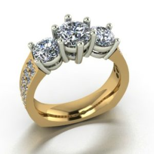 Past present and future ring Copy - Custom Design Portfolio