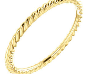 sts51695top 300x243 - 14k Yellow Gold Rope Band