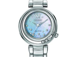EM0320 59D AdShot 1024x1024 324x243 - Citizen L Sunrise Eco-Drive Diamond Watch - Stainless Steel - Blue MOP