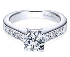 ER3962W44JJ 1 300x243 - 14K White Gold Round Straight Engagement Ring