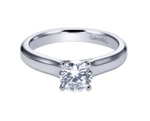 ER6583W4JJJ 1 e1506981721808 300x243 - 14K White Gold Round Solitaire Engagement Ring