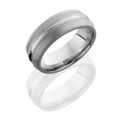 CC8ORBIT 250x243 - Cobalt Chrome 8mm Domed Band with Rounded Edges