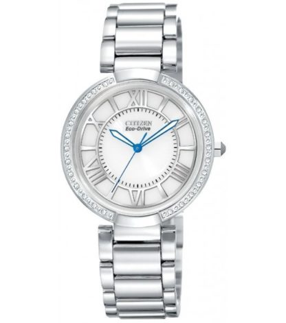EM0100 55A 416x471 - Citizen Eco-Drive Ladies D'Orsay Diamond Watch - White/Silver Dial