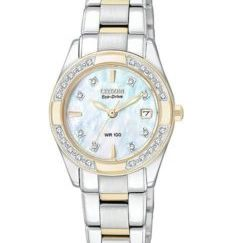 EW1824 57D 1024x1024 233x243 - Citizen Ladies Eco-Drive Regent 100M WR - 28 Diamonds - MOP Dial - Two-Tone