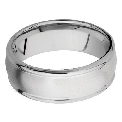 download 8 416x416 - Cobalt Chrome 8mm Domed Band with Rounded Edges