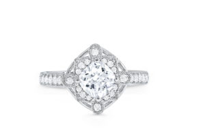 S10184 - Vintage Engagement Ring