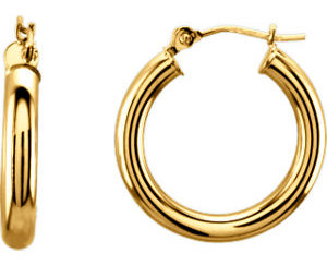 sts20826y 300x243 - Tube Hoop Earrings