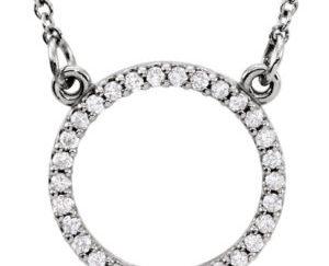 sts84155 300x243 - Diamond Circle Pendant