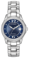 Silhouette Crystal main 1 - Citizen Eco-Drive Silhouette Crystal Ladies' Watch FE1140-86L