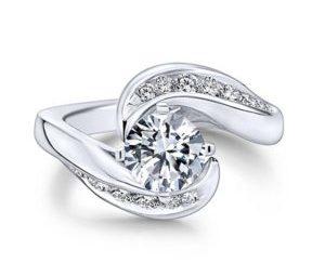 Gabriel Hayley 14k White Gold Round Bypass Engagement RingER4309W44JJ 11 300x243 - 14k White Gold Round Bypass Diamond Engagement Ring
