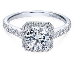 Gabriel Margot 14k White Gold Round Halo Engagement RingER7252W44JJ 11 300x243 - 14k White Gold Round Halo Diamond Engagement Ring
