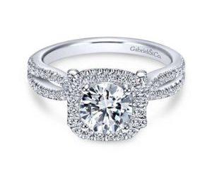 Gabriel Sonya 14k White Gold Round Halo Engagement RingER7806W44JJ 11 300x243 - 14k White Gold Curved Diamond Wedding Band