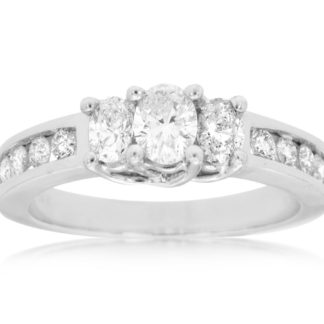 WC2749 324x324 - 14k White Gold Curved Diamond Wedding Band