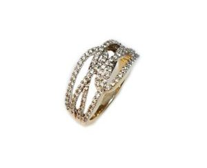 swirlfinal 300x243 - Criss-Cross Diamond Ring