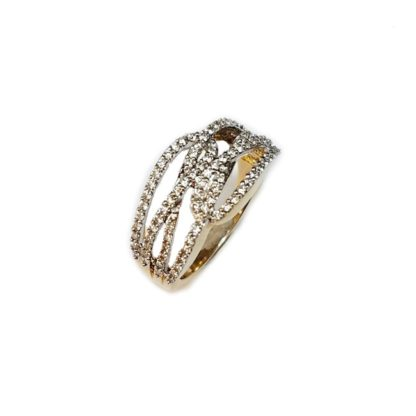 swirlfinal 416x416 - Criss-Cross Diamond Ring