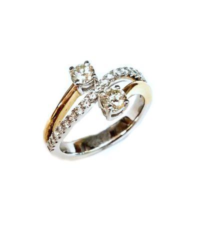 twostonefinal 416x452 - Two-Stone Diamond Ring