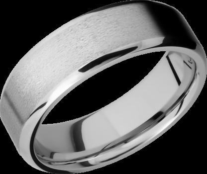 CC7B FINISHSTONEPOLISH IMAGE0011 416x350 - Cobalt Chrome Stone Finish Men's Ring