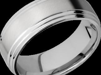 CC8F2S FINISHANGLE SATINPOLISH IMAGE0011 324x243 - Cobalt Chrome Angle Satin Finish Men's Ring
