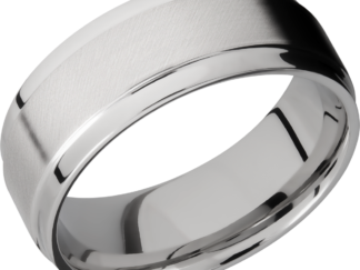 CC8FGEW FINISHANGLE SATINPOLISH IMAGE0011 324x243 - Cobalt Chrome Angle Satin Polish Men's Ring