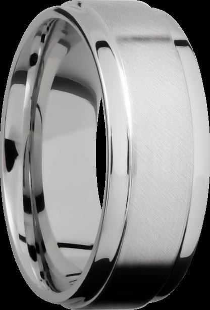 CC8FGEW FINISHANGLE SATINPOLISH IMAGE0021 416x614 - Cobalt Chrome Angle Satin Polish Men's Ring