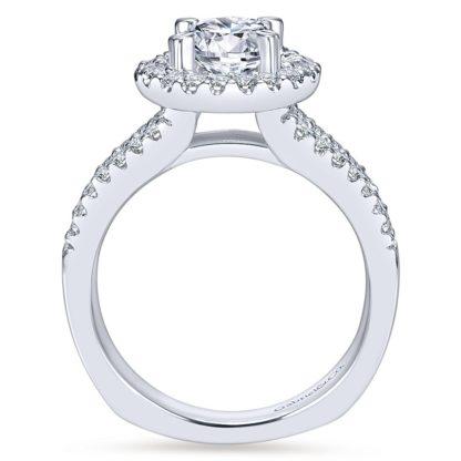 Gabriel Drew 14k White Gold Round Halo Engagement RingER4112W44JJ 21 416x416 - 14k White Gold Round Halo Diamond